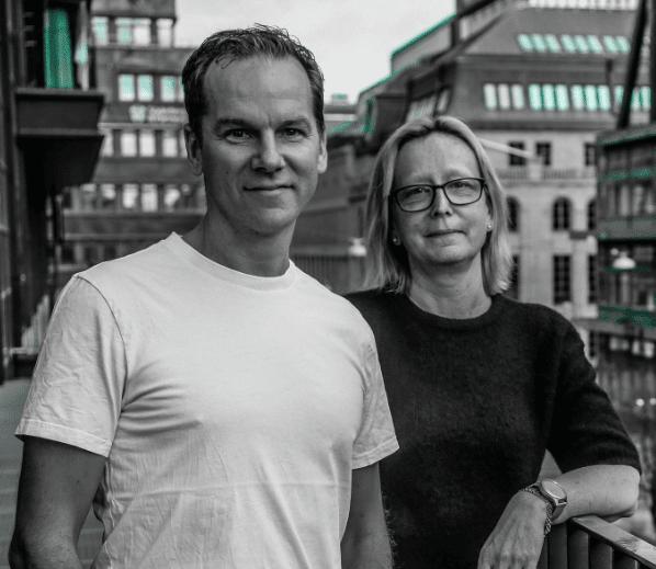 Bizzcoos grundare Mats Kroona och Madeleine Söderman